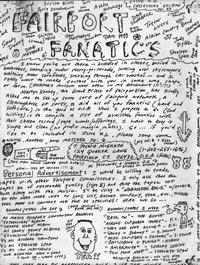 Fairport Fanatics #1, 1983