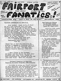 Fairport Fanatics #6, Jul/Aug 1984