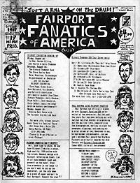 Fairport Fanatics #19, Spring 1987