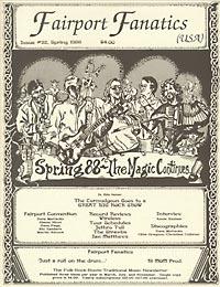 Fairport Fanatics #22, Spring 1988
